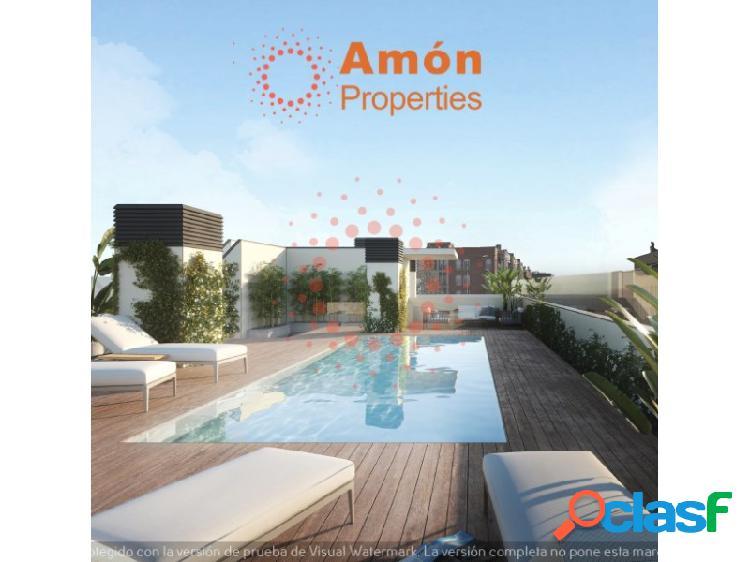 Obra nueva en el centro con pisos 1º,2º,3º y 4º con balcón de 3 habitaciones a 10 min de la estación
