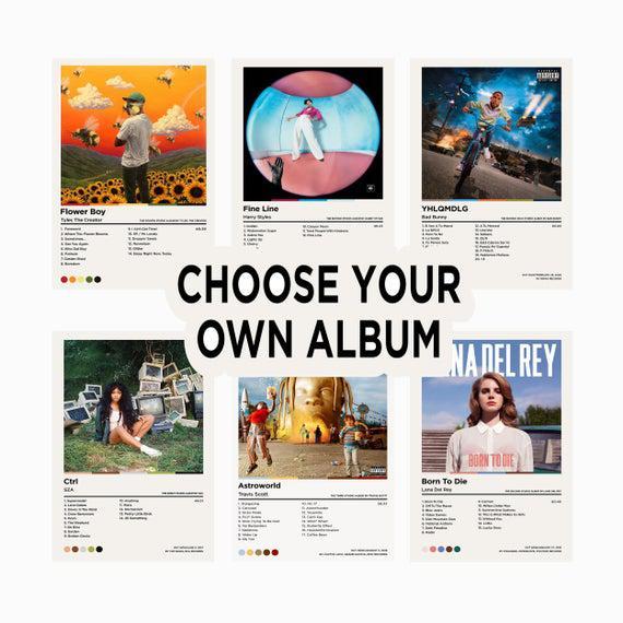 Elija su propio álbum / portada de álbum personalizado