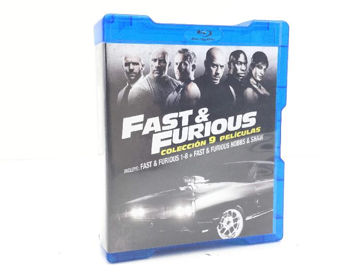 Fast & furious coleccion 9 peliculas