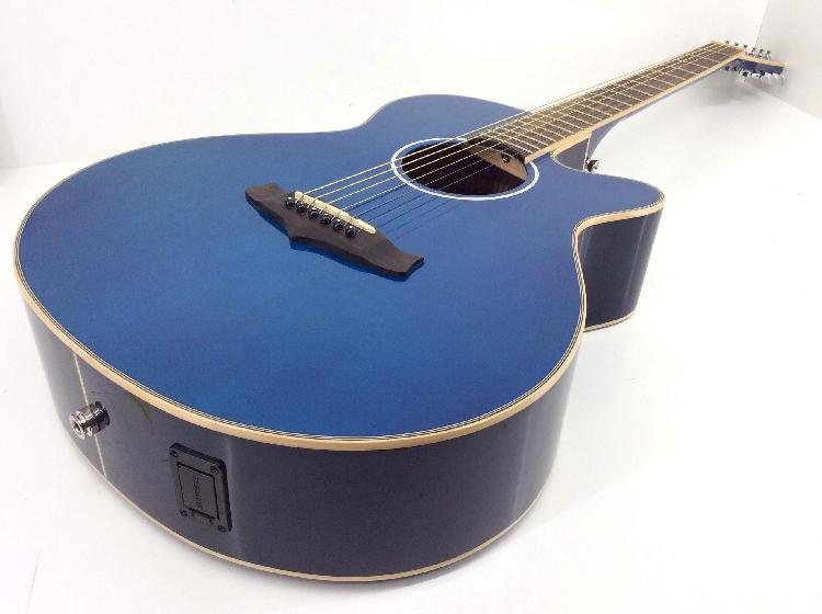 Guitarra acustica evolution tsf ce bl