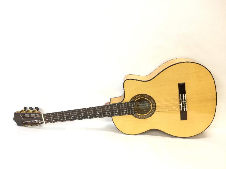 Guitarra clasica martinez mfg-as ce