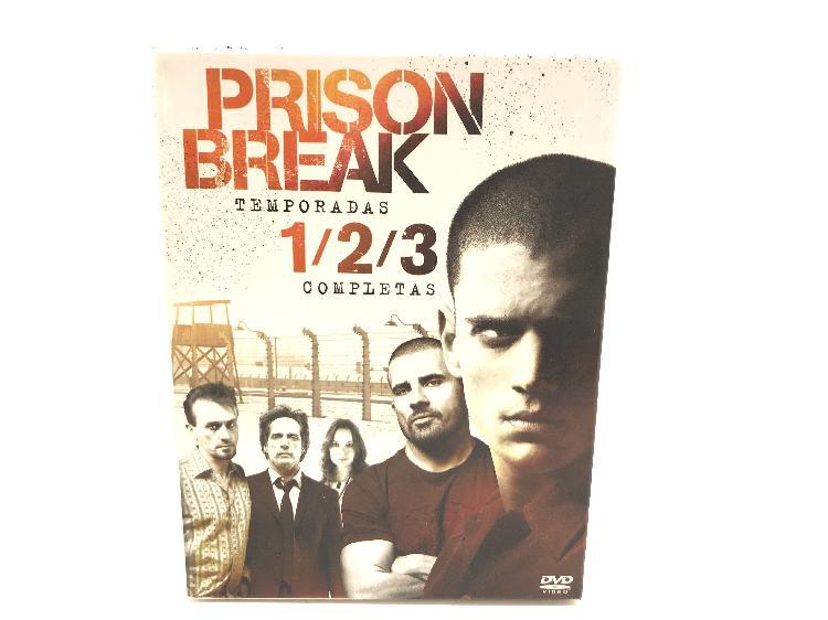 Prision break temporadas 1/2/3