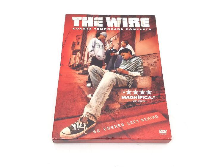 The wire; cuarta temporada completa