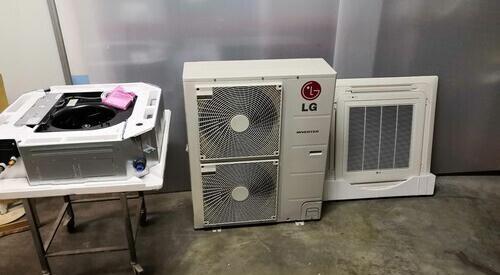 Aire acondicionado cassette inverter lg 8603 frigorias bomba