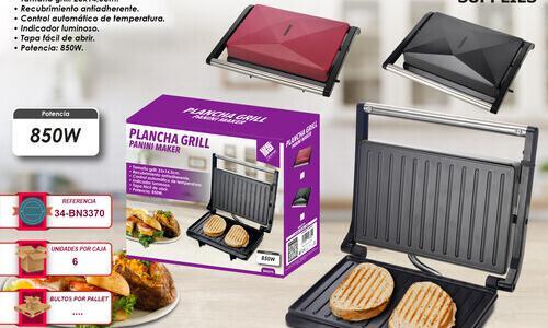 Plancha grill panini maker wehouseware