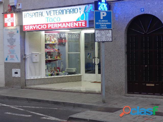 Clínica veterinaria Taco. Equipamiento y experiencia en casos clínicos complejos.