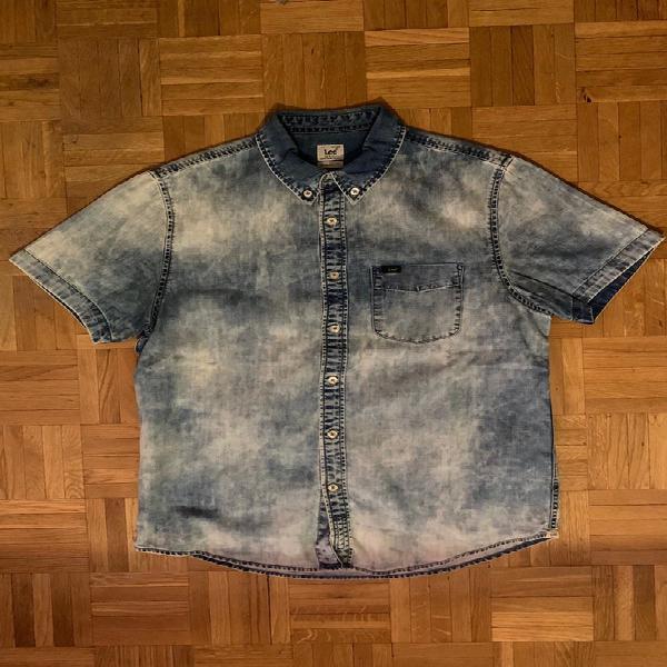 Camisa lee manga corta