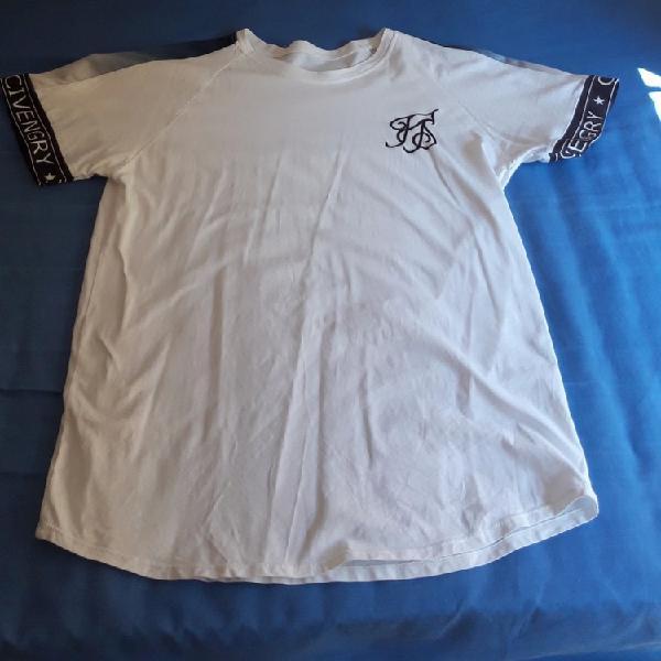 Camiseta manga corta sik&silk