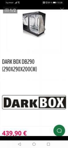 Dark box 2m de alto por 2 de largo