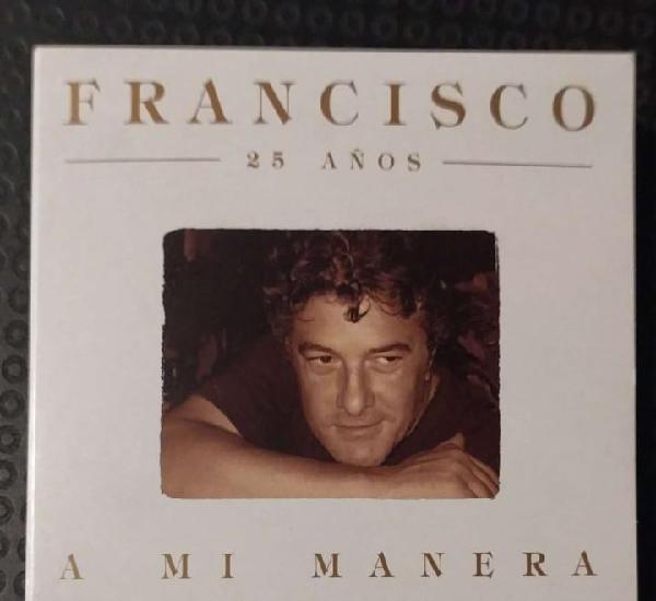 Francisco (a mi manera - 25 años) cd 2004