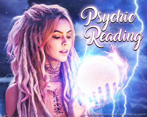 Intuitive/psychic reading -- 1 to 10 questions -- within 24