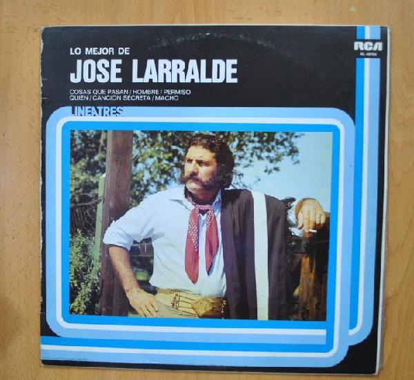 Jose larralde - lo mejor de jose larralde - lp