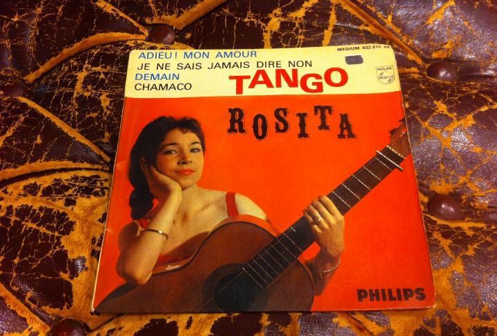 Single / ep. tango rosita. adieu! mon amour. demain. je ne