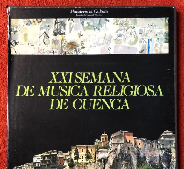 Xxl semana de música religiosa de 1982 caja con 3 discos