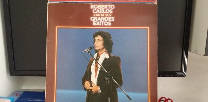 Roberto carlos - canta sus grandes éxitos - lp año 1978 -