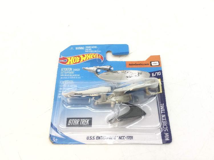 Figura accion hot wheels fyc93-d520 g1 a u.s.s enterprise