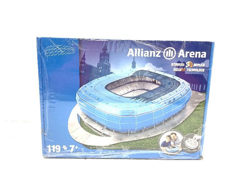 Juego de construccion nanostad allianz arena estadio 3d