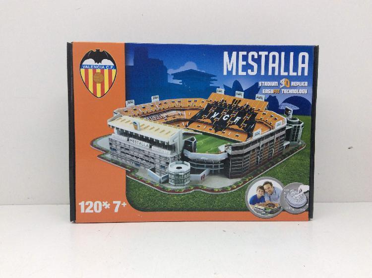 Juegos de mesa valencia cf puzle 3d estadio mestalla