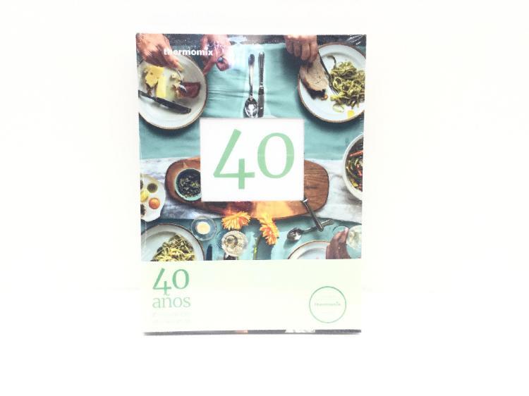 Libro cocina thermomix 40 aã'os