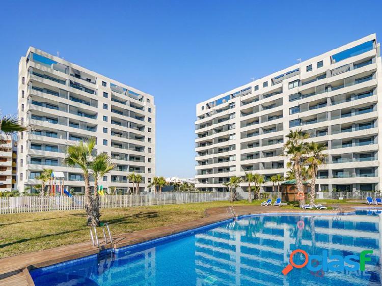 Primera línea del mar, apartamento de 3 dormitorios en venta, torrevieja 7 planta