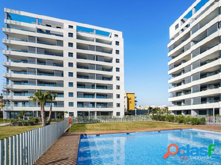 Primera línea del mar, apartamento de 3 dormitorios en venta, torrevieja 3 planta