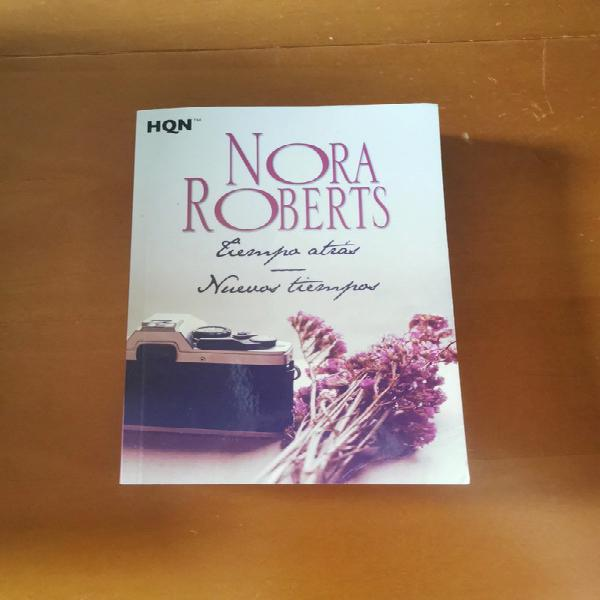 Novela romántica de nora roberts - tiempo atrás, nuevos