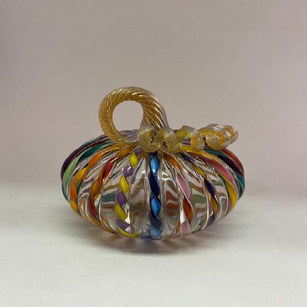Glass pumpkin- carousel pumpkim