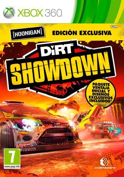 Dirt 3 showdown hoonigan limited x360