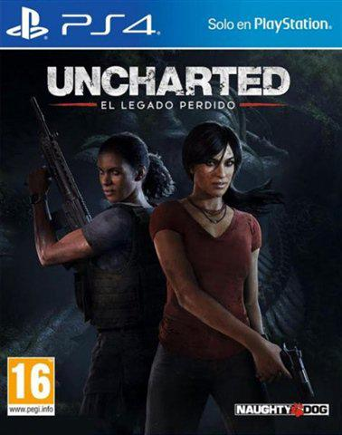 Uncharted the lost legacy ps4 no dlc
