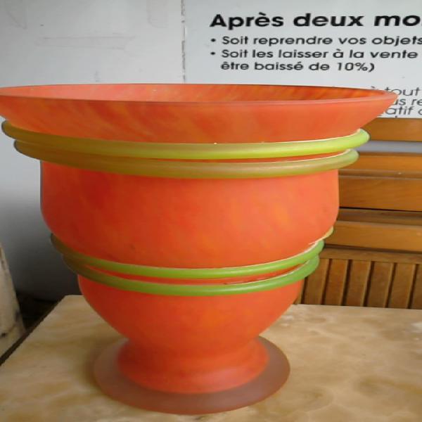 Compre la oportunidad de jarrón vaso naranja