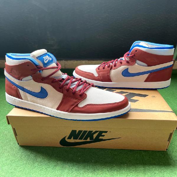 "Nike air jordan 1 zoom cmft ""team red"" 42 eu"