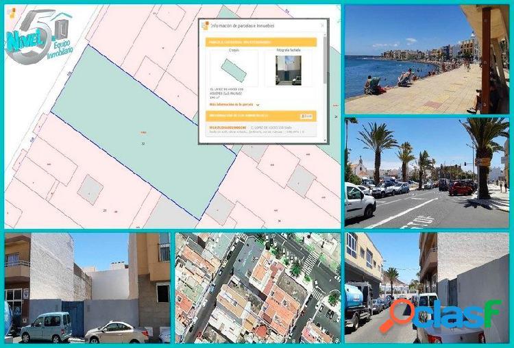 Playa de arinaga- solar urbano- céntrico- llano