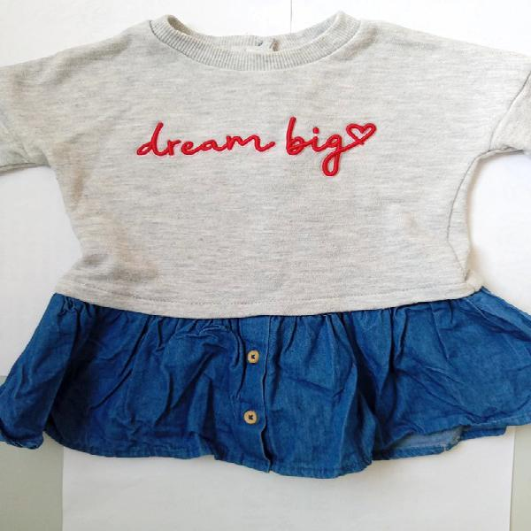 Vestido niña talla de 9 meses a 12 meses marca primark