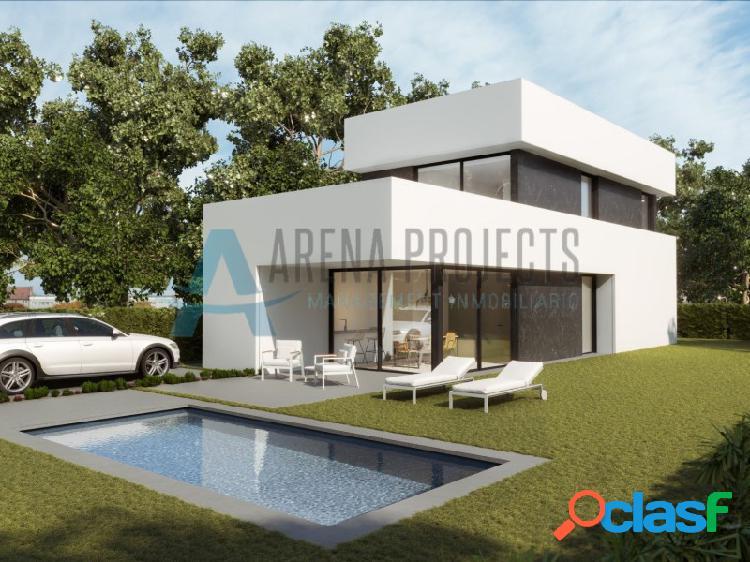 Villa de obra nueva en denia, zona montgo-paidos