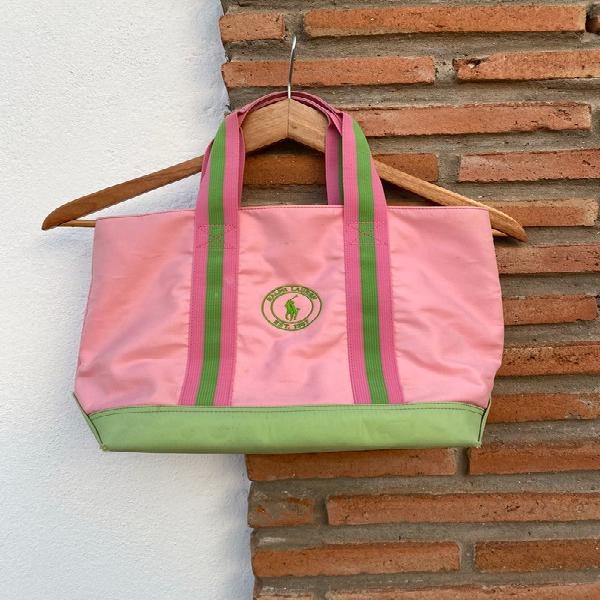 Bolso rosa ralph lauren/ sac rose