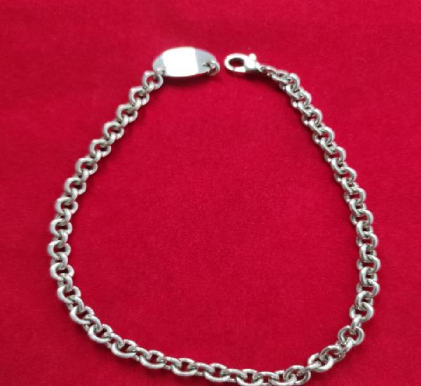 Collar de plata de ley 925 - mide 40 cm