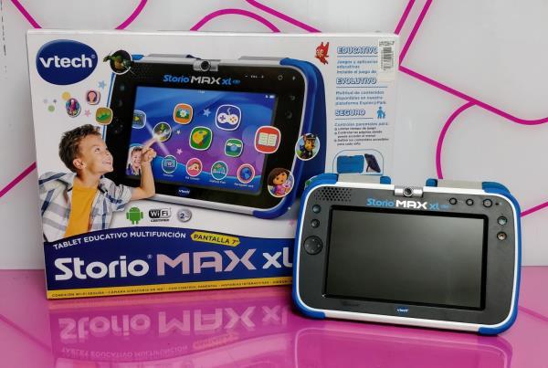 Tablet educativa storio max xl 2.0 c/caja c/f segunda