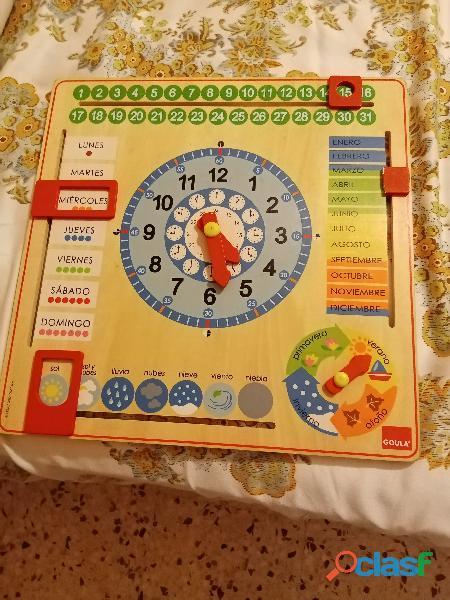 Se vende reloj con calendario días del mes etc