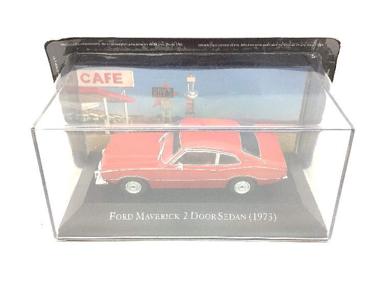 Coche metal altaya ford maverick 2 door sedan(1973))