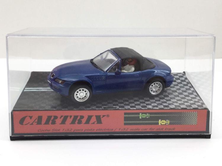 Coche slot cartrix cartrix bmw z3 roadster soft top blue