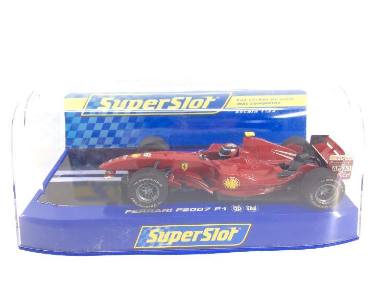 Coche slot superslot ferrari f2007 f1