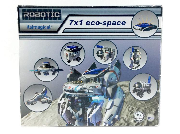 Juego de construccion imaginarium robotic 7x1 eco space