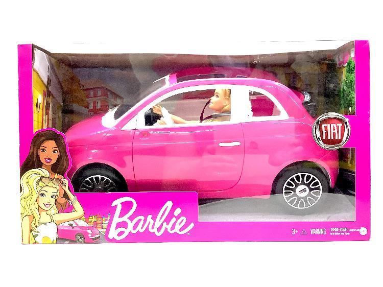 Juguete cine y tv mattel barbie fiat fpr57
