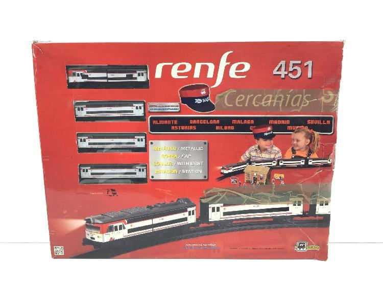 Otros juegos y juguetes renfe 451 cercanias