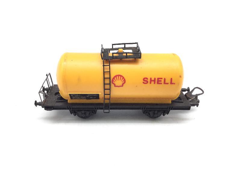 Vagon escala h0 lima vagon cisterna shell