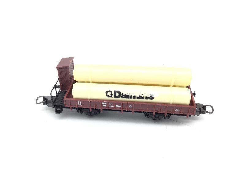 Vagon escala h0 lima vagon tolva tuberias dalmine