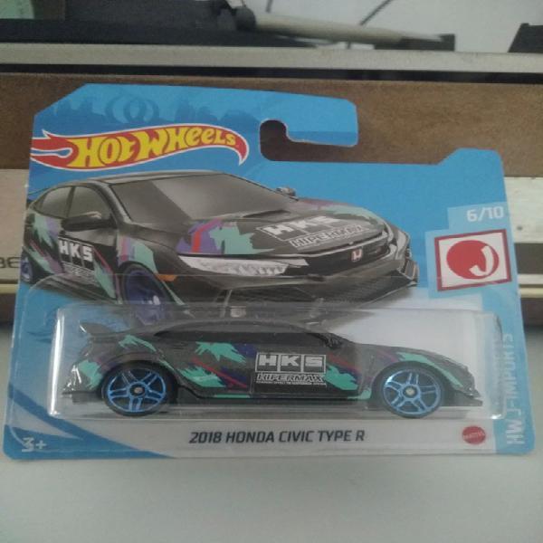 Honda civic type r hotwheels