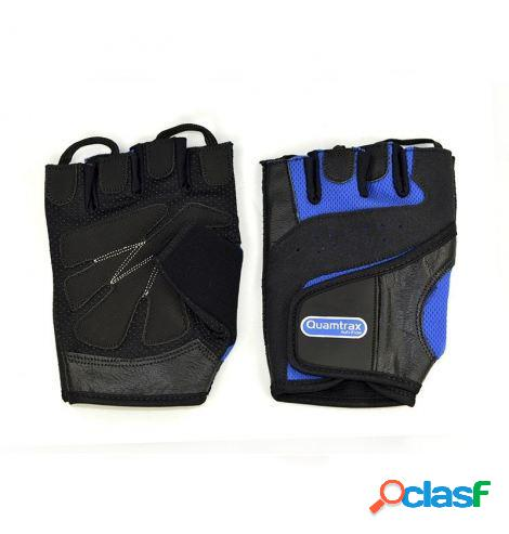 Quamtrax Nutrition Guantes Strenght Talla L Azul Marino