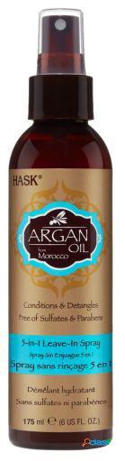 Hask argán aceite reparador 5 in 1 leave in 175 ml