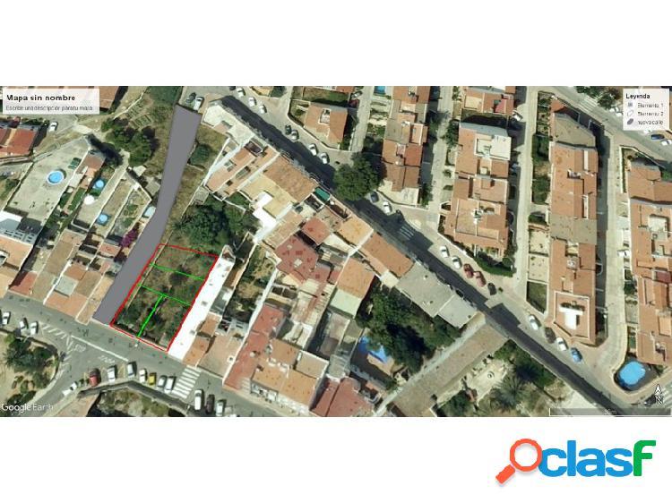 Parcela / terreno edificable en menorca (maó / mahón) de 450m2